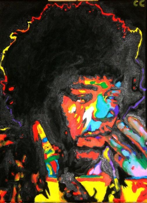 Jimi Hendrix by Celoush